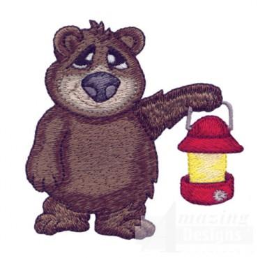 Bear With Lantern
