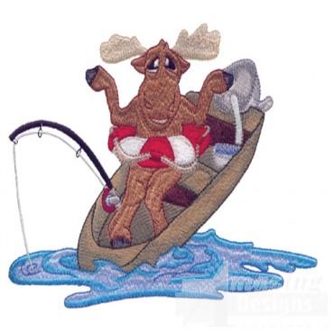 Fishing Moose