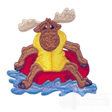 Floating Moose