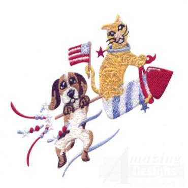 Rocket Cat And Dog