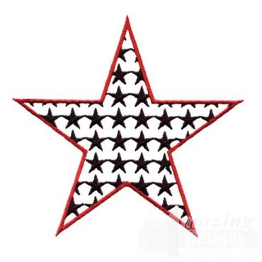 4 Inch Positive Fill Star