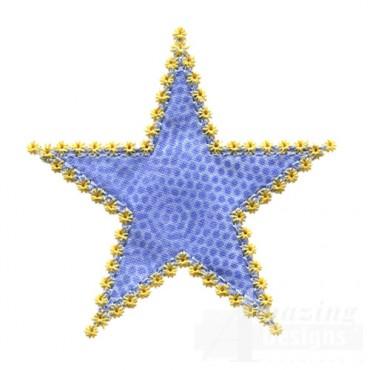 3 Inch Star Stitch