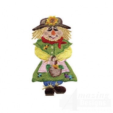 Scarecrow With Basket