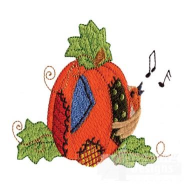 Pumpkin And Singing Bird