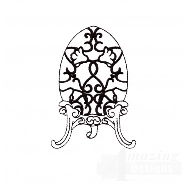 Easter Faberge Egg 1 Embroidery Design