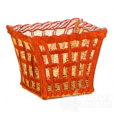 Hoop713 Woven Basket Embroidery Designs