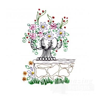 Vl120 Flowers In Vase