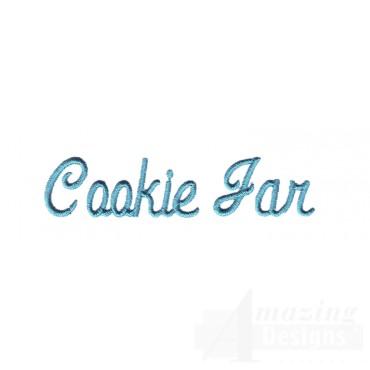 Cookie Jar Lettering