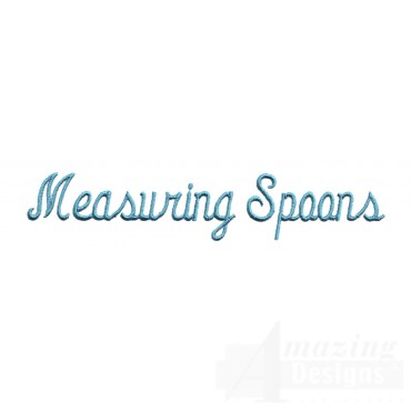 Mixing Spoons Lettering