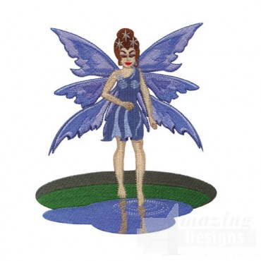 Fairy by Puddle