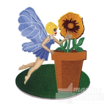 Fairy with Flower Pot