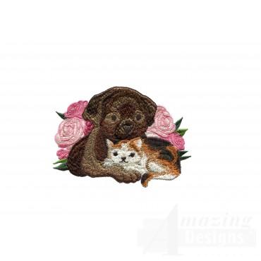 Love111 Puppy Love Embroidery Design