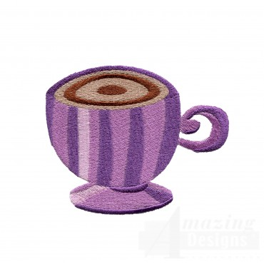 Coffee Mug 4 Embroidery Design