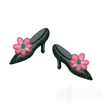Flowered Shoes