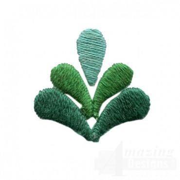 Decorative Element Folk Art Embroidery Design