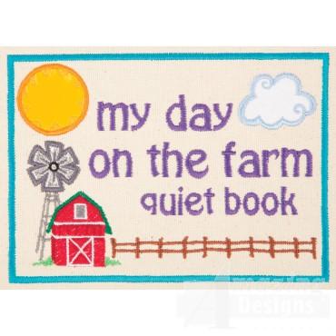 Farm Quiet Book Page 1