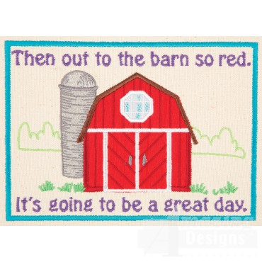 Farm Quiet Book Page 6