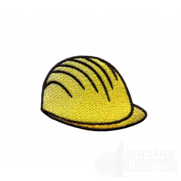Construction Hat Embroidery Design