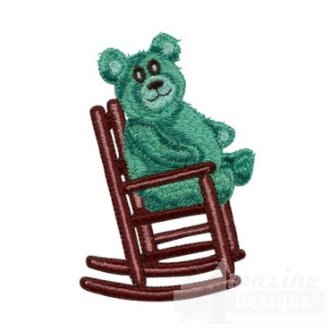 Bear in Rocking Chair