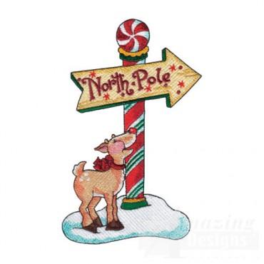 Reindeer at North Pole