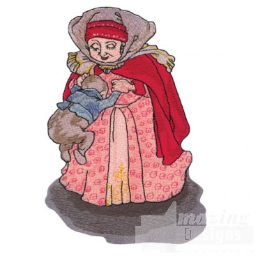 Fairytale Mother and Child