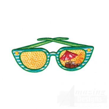 Tropical Drink Sunglasses
