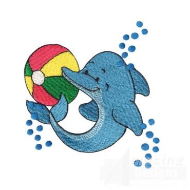 Dolphin With Beach Ball
