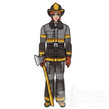 Male Firefighter