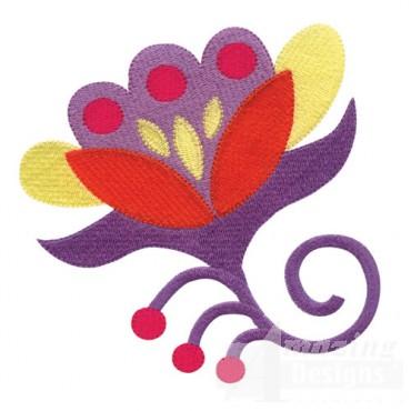 Jacobean Flower 7