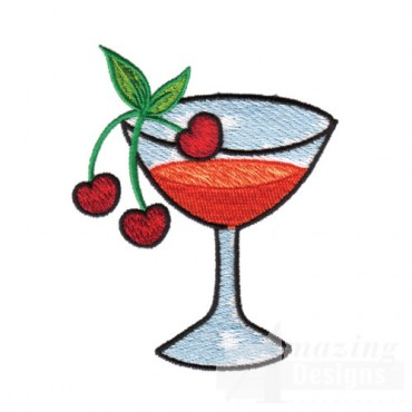Drink with Cherries