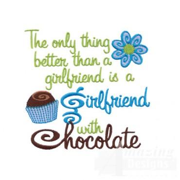 Girlfriend with Chocolate