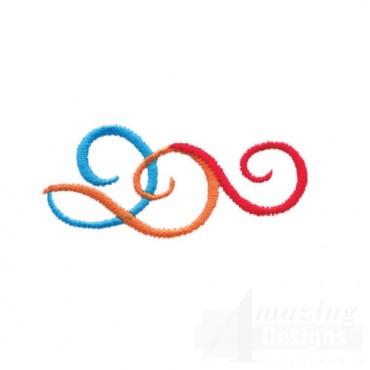 Multi Color Swirls