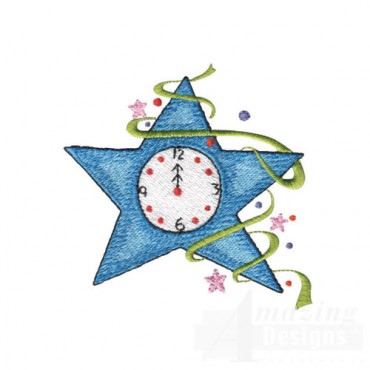 Star Countdown Clock