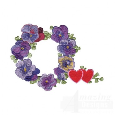 Pansies and Hearts
