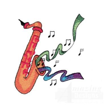 Saxophone Playing Music