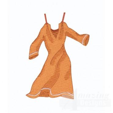 Orange Nightgown