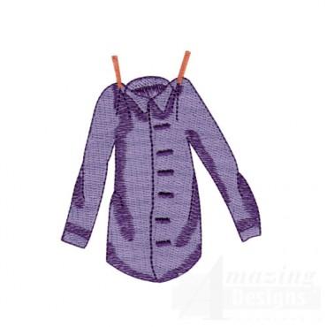 Purple Button down Shirt