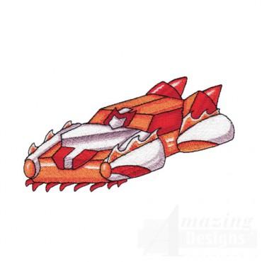Red Robot Rocket