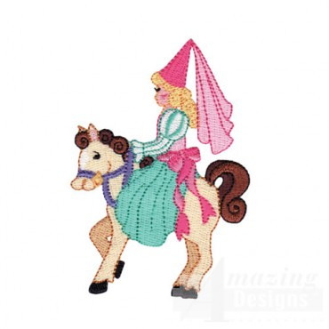 Princess On Horse