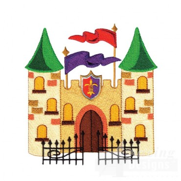 Castle With Gate