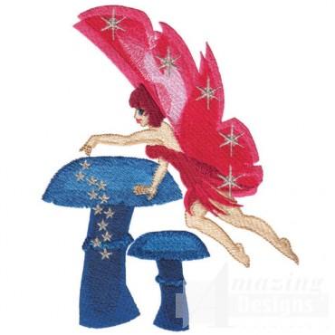 Fairy With Mushrooms
