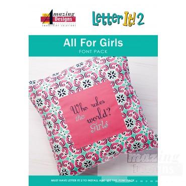All for Girls Font Pack