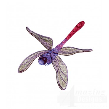 Swndd203 Dragonfly Embroidery Design