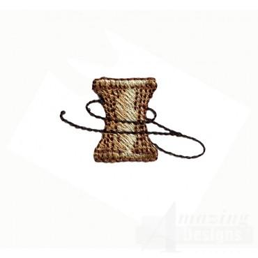 Sew128 Thread Spool Embroidery Design