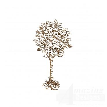 Tree Swnscb122 Embroidery Design