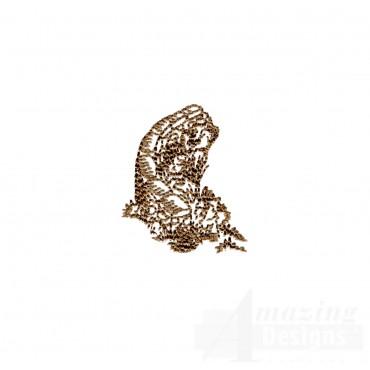 Stone Wall Swnscb131 Embroidery Design