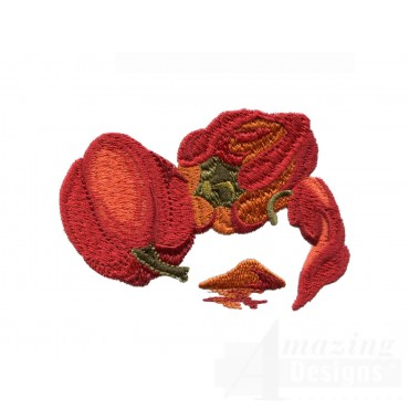 Paprika Spice Embroidery Design