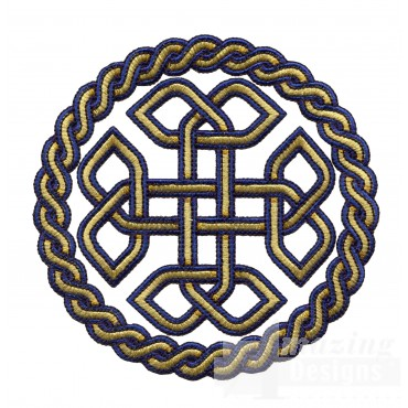Circle Knot 1 Embroidery Design