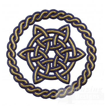 Circle Knot 4 Embroidery Design