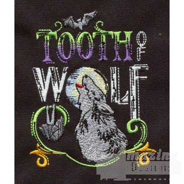 Tooth Of Wolf Embroidery Design